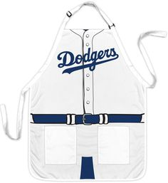 Chicago Cubs, LA Dodgers or Milwaukee Brewers Barbeque Apron Mickey Mouse Sports