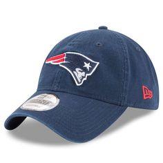 New England Patriots New Era Core Classic 9TWENTY Adjustable Hat - Navy - $21.99
