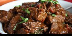 Si quieres una idea de cómo cocinar carne,esta receta de carne en salsa o carne guisada te va a gustar. ¡Pruébala!