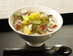 Fall Foliage Lemongrass Soup (Use coconut oil, coconut aminos, and #nightshadefree substitute for red pepper to make #paleo and #aip)