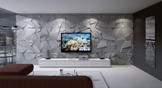 10 Creative And Inexpensive Cool Ideas: False Ceiling Fabrics kitchen false ceiling modern.Porch False Ceiling Design false ceiling dining home.False Ceiling Wedding New Years Eve. Tv Wall Design, House Design, Tv Wanddekor, Modern Tv Wall Units, False Ceiling Living Room, Living Room Tv Unit Designs, Muebles Living, Tv Wall Decor, False Ceiling Design