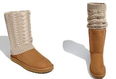 Check these out!  These UGGS have a detachable boot sock - Wear it up, wear it down.... just wear it!!!