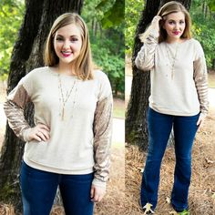 """Add a little SPARKLE to your life with our """"I'll Always Shine Sweater"""" for $38 on www.AthenaAttire.com"""