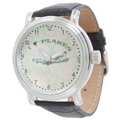 I Love Planes - KC135A Stratotanker Wrist Watch - accessories accessory gift idea stylish unique custom