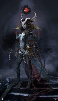 shadow warrior 2 ameonna by magdalena radziej  Sparrow Volume 11: John Watkiss