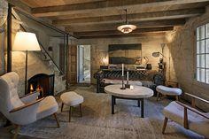 Sweet Seating - Ellen DeGeneres & Portia De Rossi List Santa Barbara Estate For $45 Million - living room villa