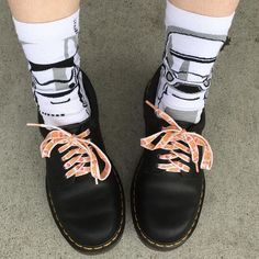 Docs and Socks: the 1461 shoe, shared by tokigal.