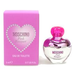 Brand New miniature perfume MOSCHINO Italian Pink Bouquet 4.9ML 0.16oz EDT Women