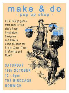 Make & Do -pop up shop at The Birdcage