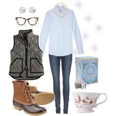 """""""Winter Tea"""" #LLBEAN BOOTS #beanboots #duckboots"""