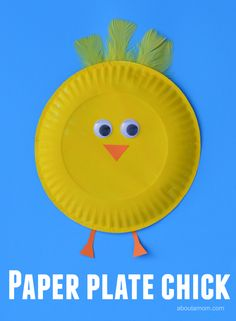 This paper plate chick craft makes a great Easter craft or a farm unit study crafat.