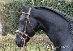 leather custom bridle by SqLeatherwork on DeviantArt