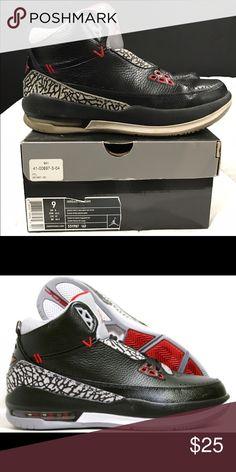 Air Jordan 2.5 Air Jordan 2.5 Used But Still Good. Size 9 Colors: Black/Varsity Red-Cement Grey-White Jordan Shoes