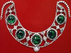 Tiara Mania: Emerald Bandeau by Cartier for Princess Marthe Bibesco