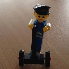 Late 70's Lego Man on his Segway ... Time travelling obviously