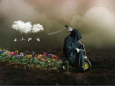Reaper surreal photography 27 Surreal Photos That Make You Look Twice   Surreal Photography