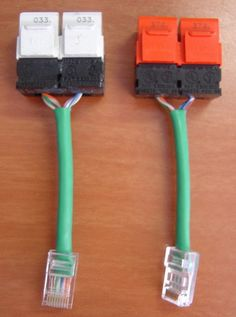 """With an Ethernet """"splitter"""", you can simultaneously connect two computers (or other network devices) on one Ethernet cable. You can buy Ethernet splitters for approximately $ 20.00 USD but you also can make your own. Context: One office, one ethernet jack and two computers, or One living room, one ethernet jack and one HTPC and one XBox. If you can't realistically (without tearing apart walls or renting a scissor lift) pull one more ethernet cable from the patch panel to..."""