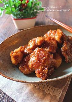 居酒屋風♪鶏肉の甘辛胡麻和え(オススメです) | たっきーママ オフィシャルブログ「たっきーママ@happy kitchen」Powered by Ameba