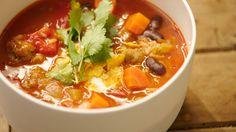Chili-con-carne soep / Dagelijkse Kost / Jeroen Meus
