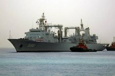 Five Chinese navy ships are currently operating in the Bering Sea, off the coast of Alaska, the first time the U.S. military has seen such activity in the area, Pentagon officials said on Wednesday.