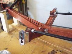 Wood Trike front frame