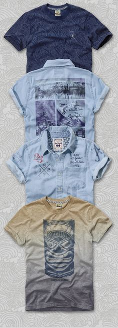 Gold Coast - Menswear Fashion Branding & Graphics on Behance