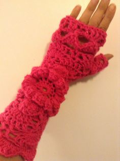 A personal favorite from my Etsy shop https://www.etsy.com/listing/249048354/handmade-fingerless-gloves