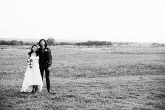 rustic fall wedding at Granite Ranch in Texas Hill Country { Rustic Autumn Ranch Wedding / Stacy & Chris / Matthew Johnson Studios / Woodsy Weddings Blog }