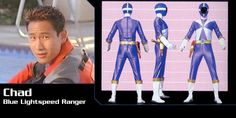 Chad Lee (Blue Lightspeed Rescue Ranger) - Power Rangers Lightspeed Rescue | Power Rangers Central