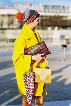 Stylist Elisa Nalin, after Carven (and before Nina Ricci), Paris, February 2014. A beautiful...