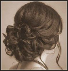 Wavy Hairstyles - Bun Hairstyle for Wavy Hair