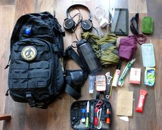 Loadout: MOAB Commuter Pack. We're asking all our readers to show us the content of their packs. Here's a great submission from Jed Edwards.
