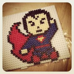 Superman hama beads by alicem82