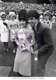 xDave Clark judging a beauty contest in Leeds in 1965