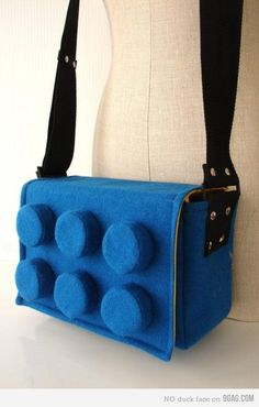 Lego satchel. Yes please.
