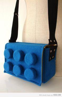 Lego satchel.