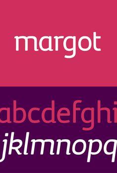 #Infografia #Tipografia Margot, gratis perfecta para titulos. #TAVnews