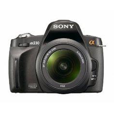 Sony Alpha A230L 10.2 MP Digital SLR Camera with Super SteadyShot INSIDE Image Stabilization and 18-55mm Lens