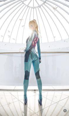 Fan-Art: Zero Suit Samus cosplay by tniwe