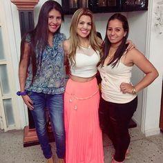 Las 3 mosqueteras las de siempre! @yohana_escorcia #cumpleañera #despedida te queremos mucho! by rudythtm
