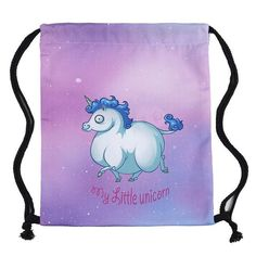 88c9fa1e6419 2017 new fashion Women unicorn Backpack 3D printing travel softback women  mochila drawstring bag School girls backpacks