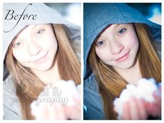 What Pretty Presets Brushes can do for your images!