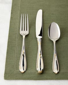 20-Piece+Victoria+Personalized+Flatware+Service+by+Yamazaki+Tableware+at+Horchow.