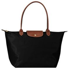 Longchamp Le Pliage Small Shoulder Tote (Black) -  35 (Outbid Buddy  Foundation Charity 3fe0a56b8961d