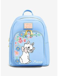 Discount Airfares Through The USA To Germany - Cost-effective Travel World Wide Boxlunch : Disney The Aristocats Marie Periwinkle Mini Backpack - Boxlunch Exclusive Disney Handbags, Disney Purse, Purses And Handbags, Disney Baby Clothes, Disney Outfits, Disney Fashion, Emo Outfits, Disney Shirts, Disneyland