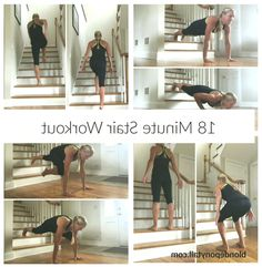 Use a set of stairs (indoors or outdoors) for this quick, effective stair workou… #stairsworkout #Effective #indoors #outdoors #quick #set #Stair #Stairs #stairsworkoutindoor #workou