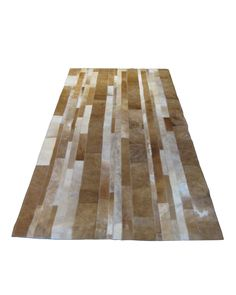 Striped Pattern Hide Carpet Runners