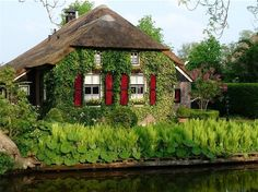 House in the village Githorn, The Netherlands.
