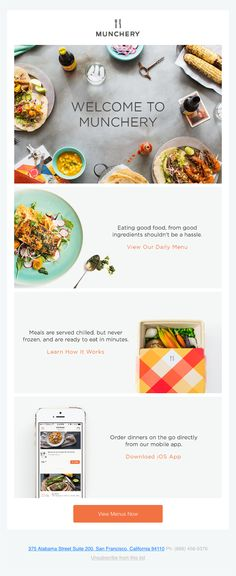 Welcome Aboard! Ready to Eat Better? - Really Good Emails