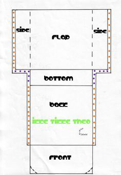 Free Online Purse Patterns | You can download this pattern for private use. You can publish it if ...